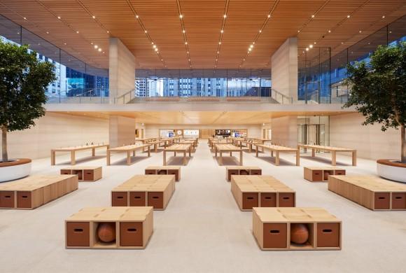 シカゴ Apple Store