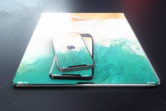 ベゼルレス iPad
