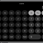 iOS11 計算機