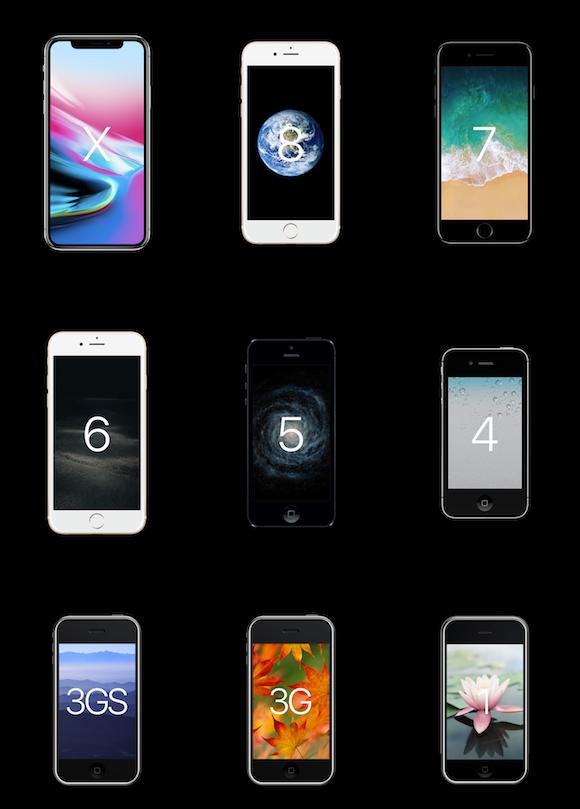 iPhone 分解 比較 Bloomberg