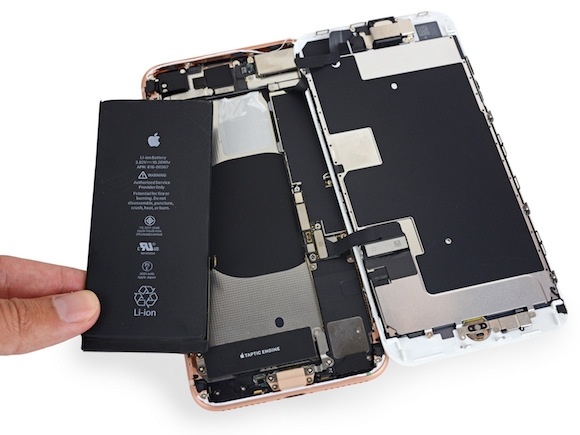 iPhone8 Plus 分解 iFixit