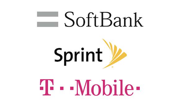 Sprint T-Mobile ソフトバンク
