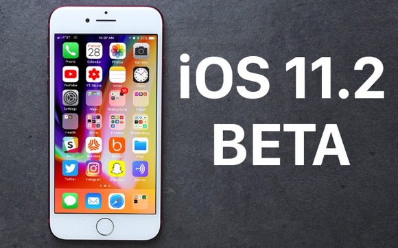 iOS11.2 ベータ