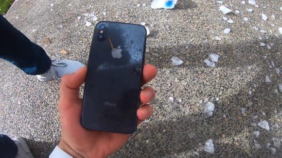 iPhone X 低温テスト