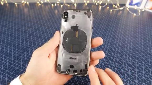 iPhone X 透明化