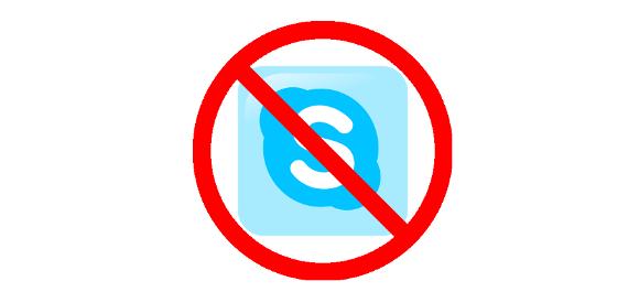 No Skype