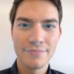 Warby Parker iPhone X アプリ 顔認識