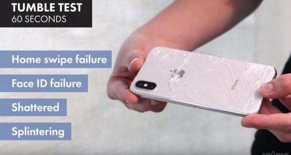 iphone x 落下 実験