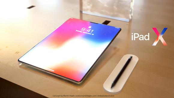 iPad X Martin Hajek