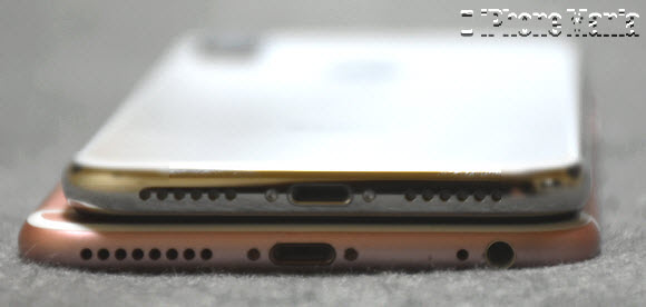 iPhone X 開封 asm撮影