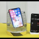 iPhone X 耐水テスト
