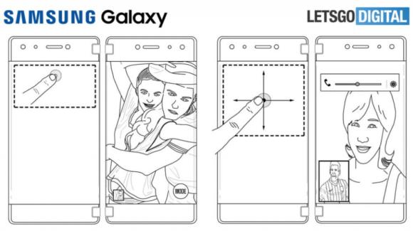 samsung galaxy x 特許