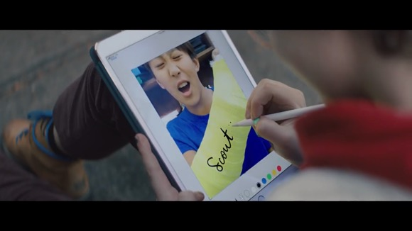 iPad Pro CM「Markup」