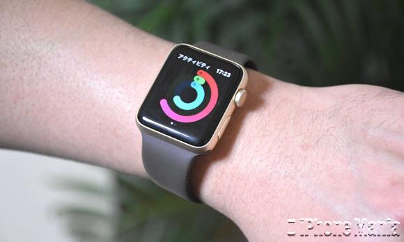 Apple Watch アクティビティ asm撮影