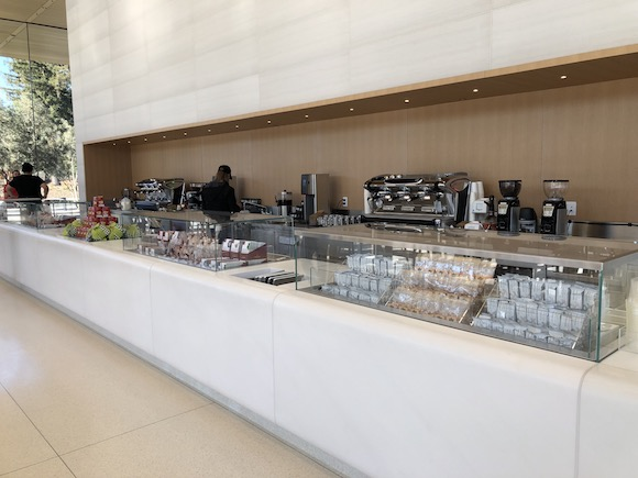 Apple Park Visitor Center cafe