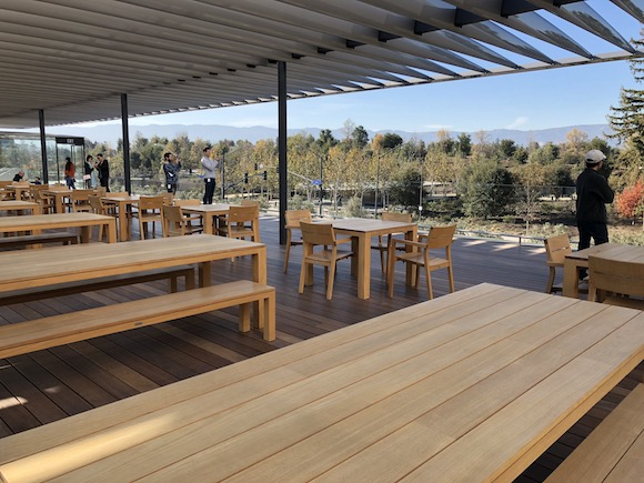 Apple Park Visitor Center Sky terrace
