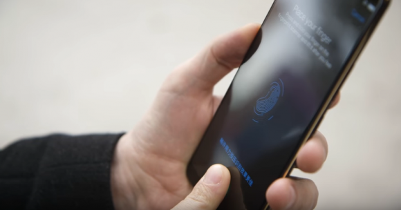 Vivo スマートフォン 指紋認証センサー