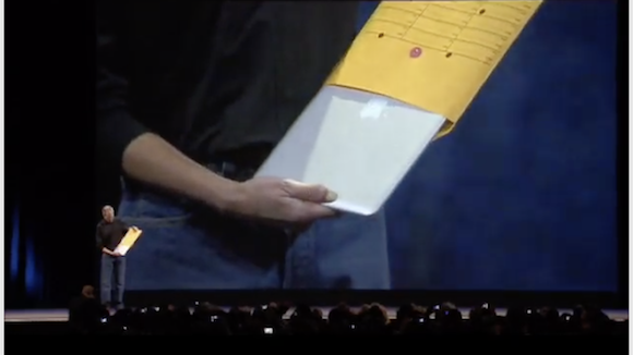 MacBook Air 発表 スティーブ・ジョブズ