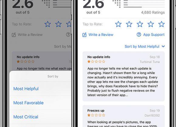 ios11.3 レビュー app store