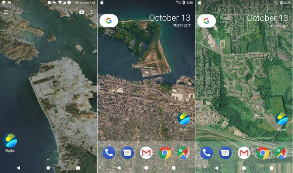 現在地の立体航空写真を壁紙にしてくれるandroidアプリとは Iphone Mania