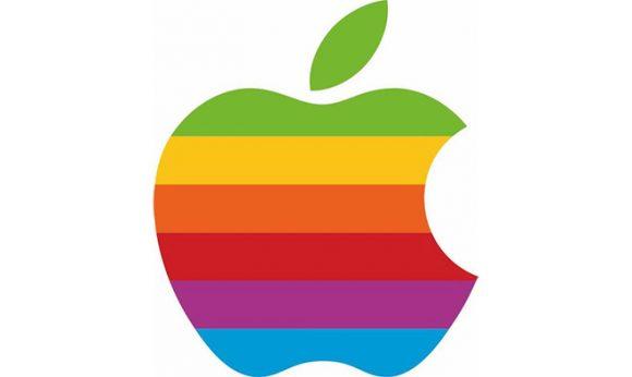 Apple 虹色ロゴ