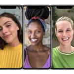 Apple iPhone X ポートレートセルフィー