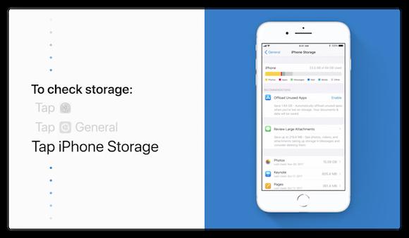 Apple サポート 空き容量確保