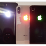 iPhone X iPhone8 Plus ロゴ 光らせる
