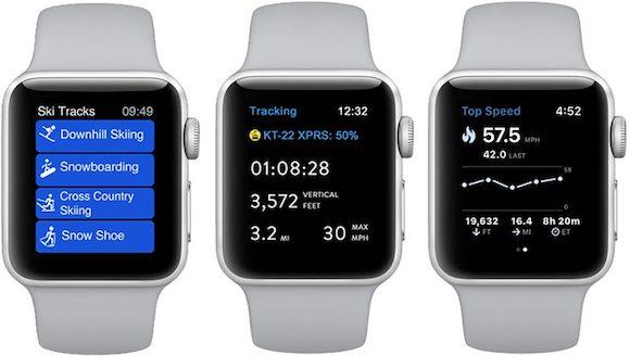 Apple Watch Series 3 スキー