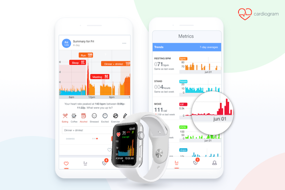 Cardiogram Apple Watch