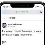 iPhone テルグ語 バグ