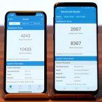 iphone x s9+ ベンチマーク