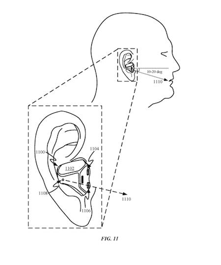 Apple AirPods 生体センサー 特許