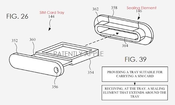 Apple 防水 特許
