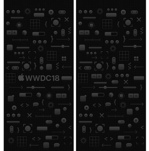WWDC 18 iPhone 壁紙
