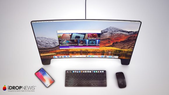 Apple Studio Display コンセプト iDrop News