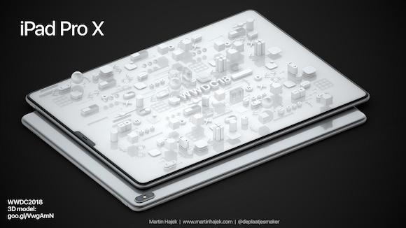 iPad Pro X WWDC 18 Martin Hajek
