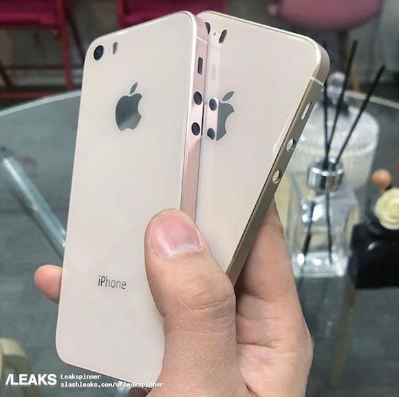 iPhone SE 2 背面 SlashLeaks