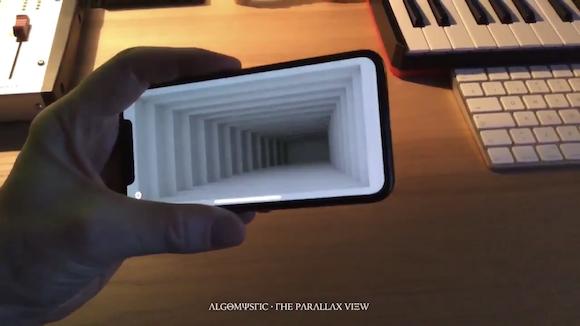 iPhone X 画面 穴 動画