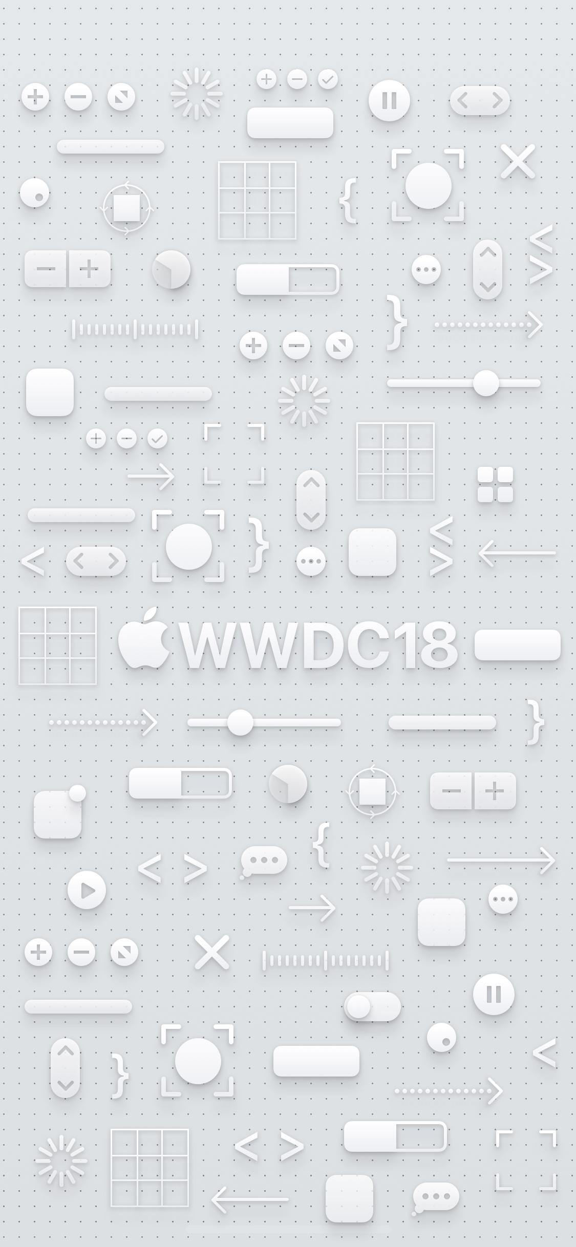 Wwdc 18デザインのiphone用壁紙が公開 Iphone Mania