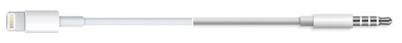 Lightning to 3.5mmオーディオ(オス) 9to5Mac