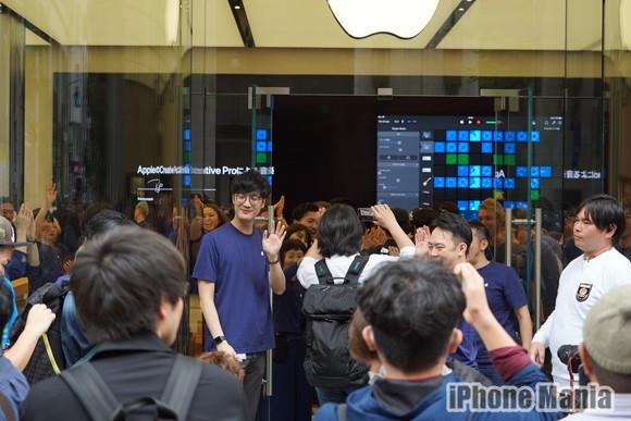 Apple新宿OPEN01