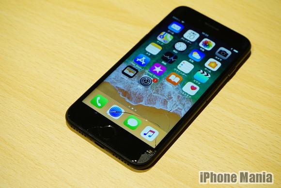 iPhone救急車2 壊れたiPhone7