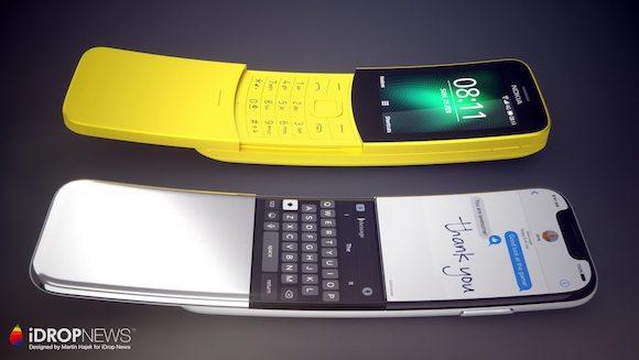 曲面ディスプレイ iPhone コンセプト iDropNews