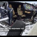 Tesla Model X 事故 ABC7News