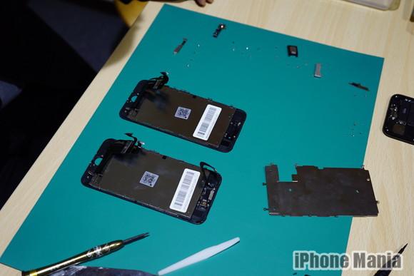 iPhone救急車2 あいさぽ新宿本店 修理作業2