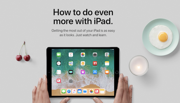 Apple 「How to do even more with iPad.」