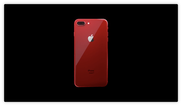 iPhone8/8 Plus (PRODUCT)RED CM Apple YouTube