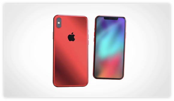 iPhone X (PRODUCT) RED コンセプト