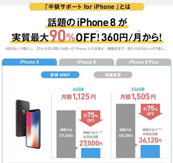 ソフトバンク 半額サポート for iPhone